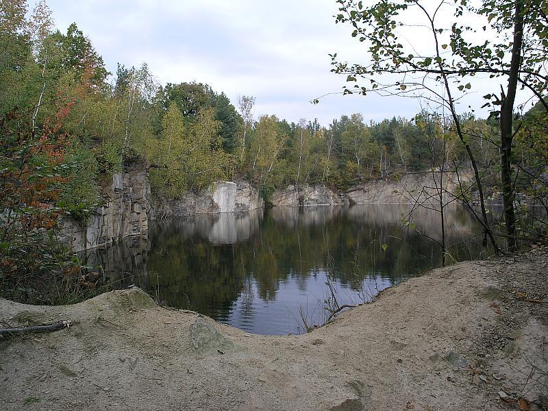 Kamieniołom Gębczyce - nurkowanie