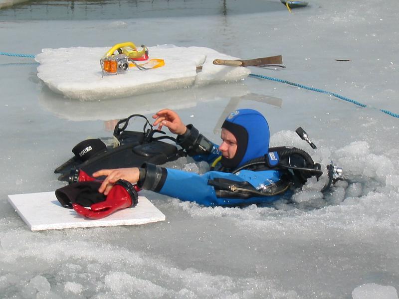 grubość nośna lodu