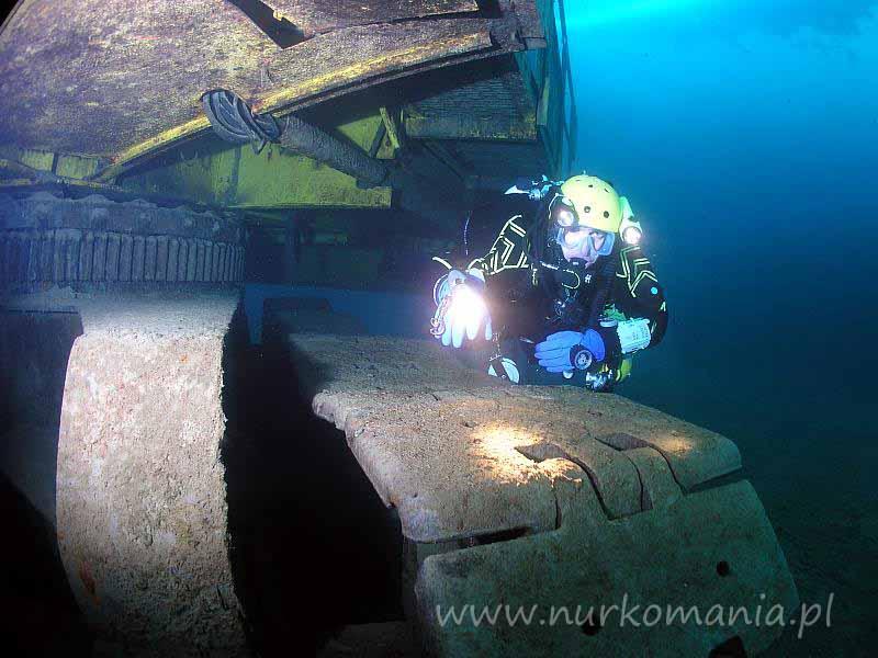 nurkowanie Jaworzno-Szczakowa (Koparki) - koparka