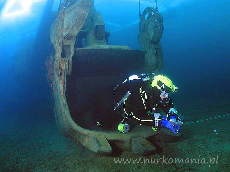 nurkowanie Jaworzno-Szczakowa (Koparki) koparka