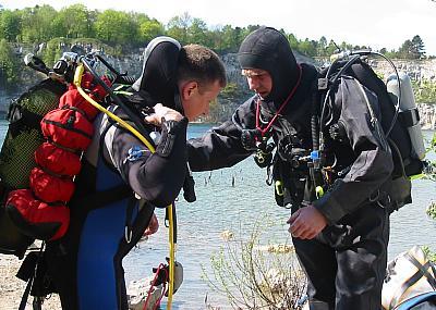 podstawowe umiejętności w nurkowaniu