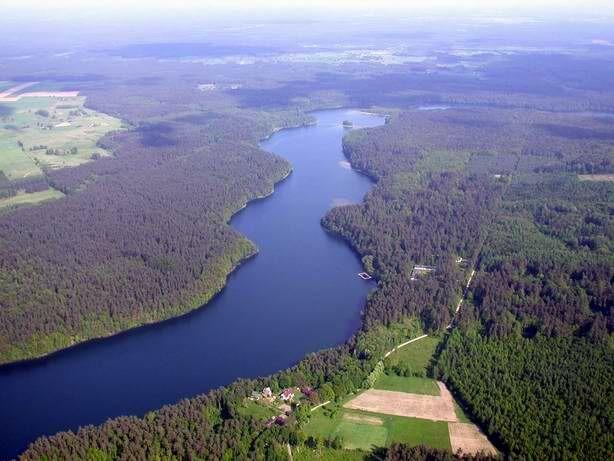 Jezioro Łęsk - nurkowanie