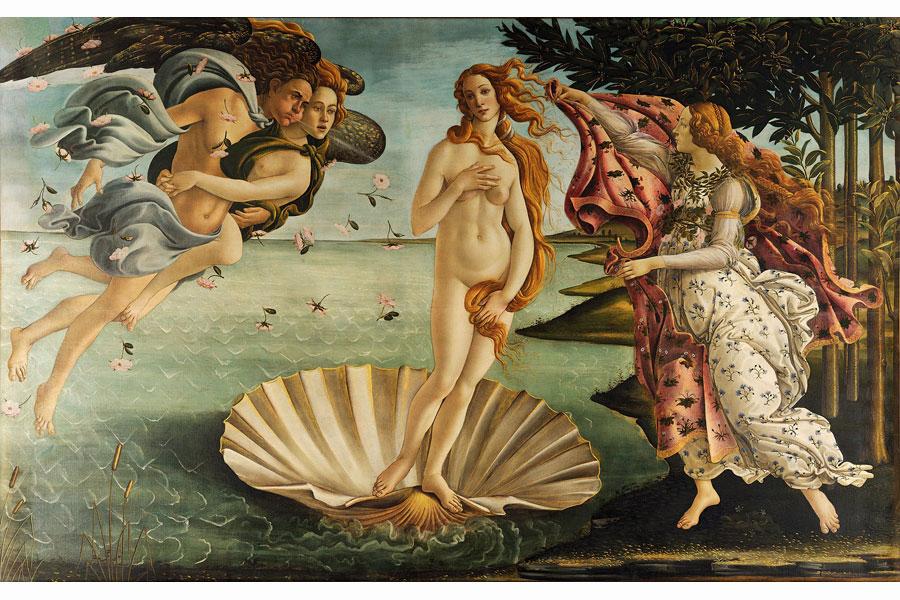 obraz Narodziny Wenus