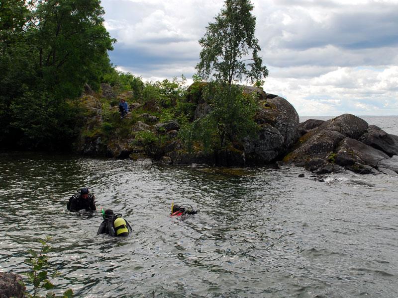 szwecja nurkowanie