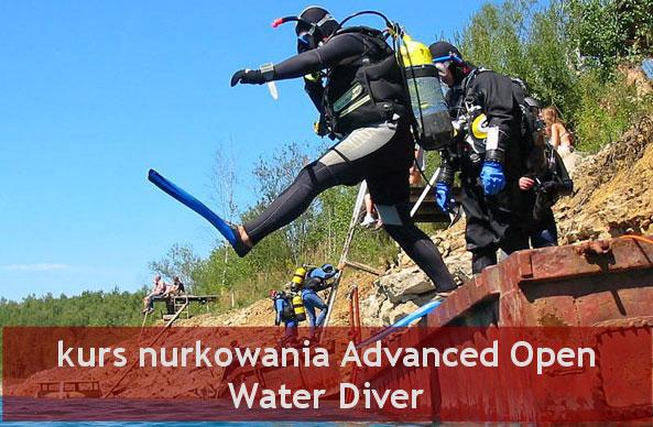 kurs nurkowania AOWD PADI (Advanced Open Water Diver) w Krakowie