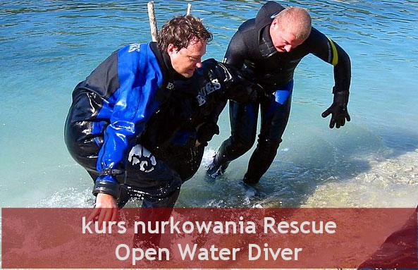 kurs nurkowania Rescue PADI