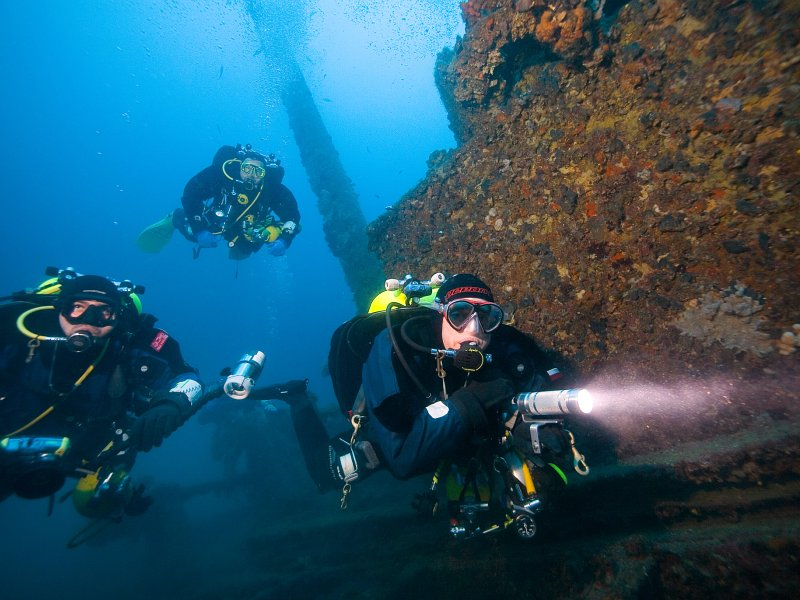Tec Deep Diver Padi