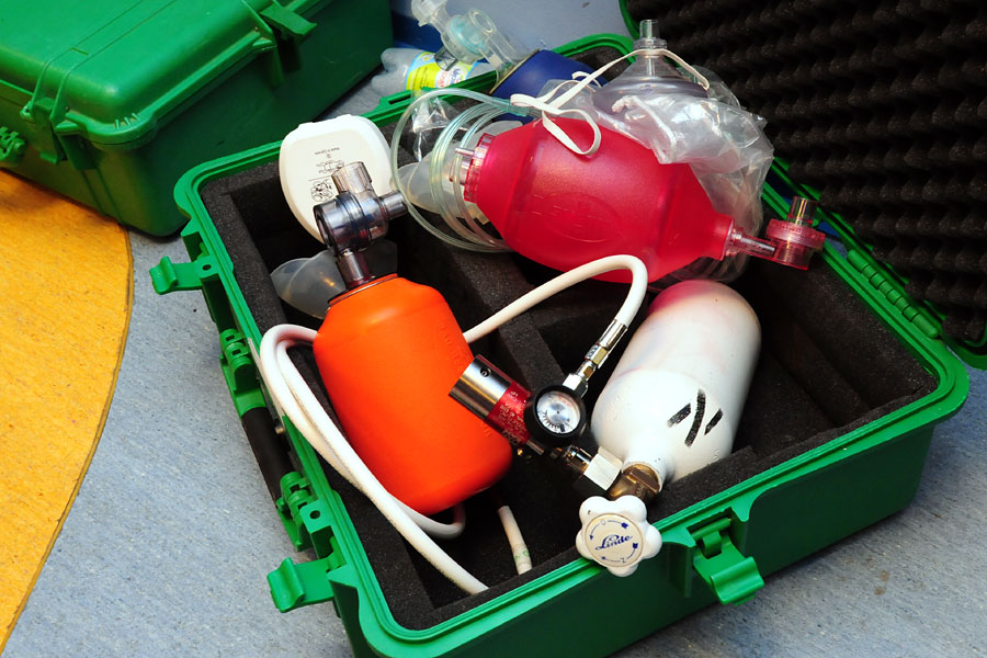 Kurs DAN Oxygen Provider - Ratownik Tlenowy DAN