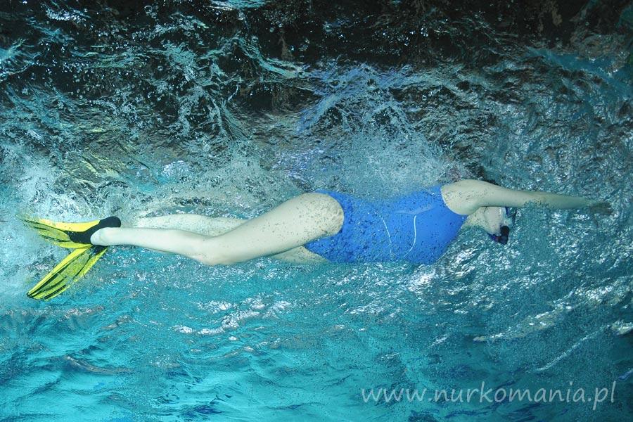 pływanie po powierzchni wody w ABC