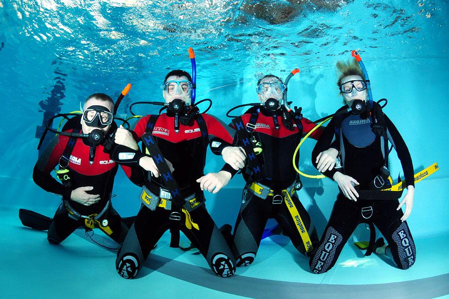 nurkowanie rekreacyjne