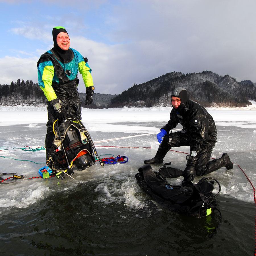 nurkowanie pod lodem kurs