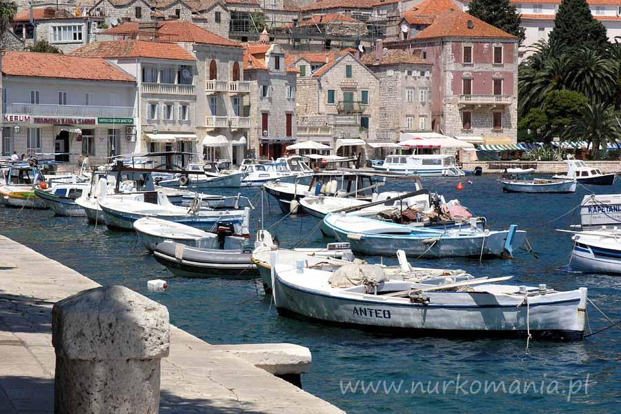nurkowanie Chorwacja Hvar port
