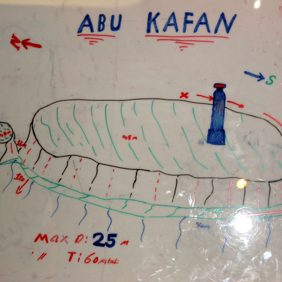 nurkowanie Egipt morze, Abu Kafan