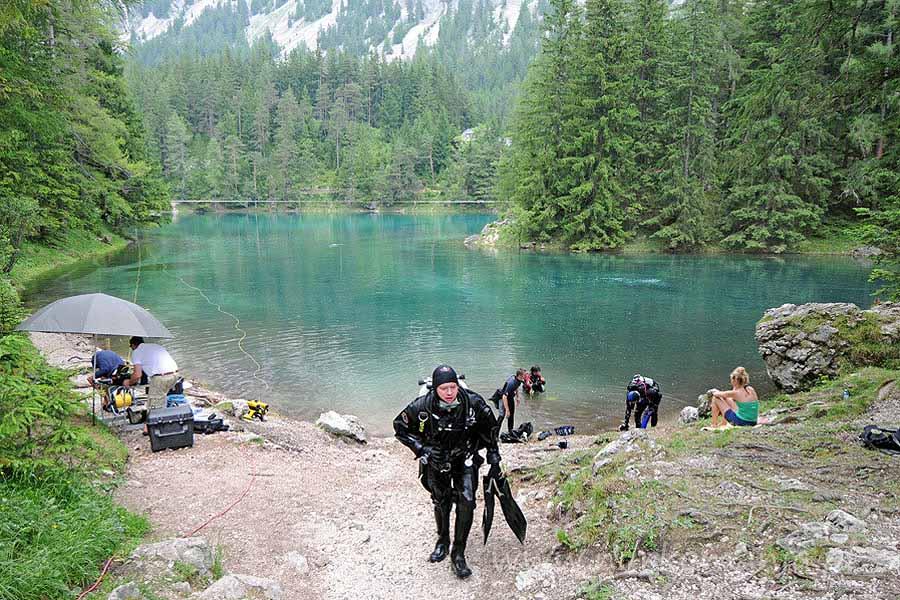 Austria nurkowanie