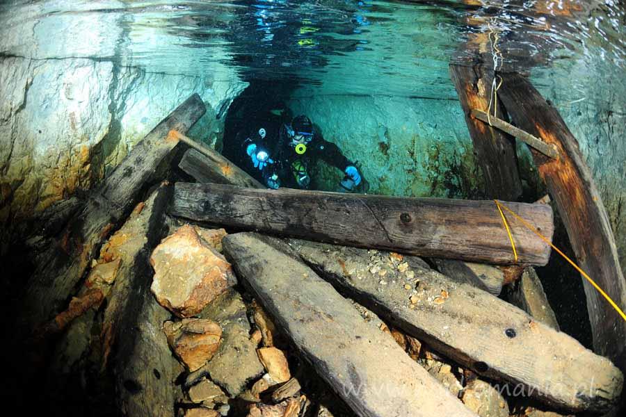 nurkowanie jaskiniowe