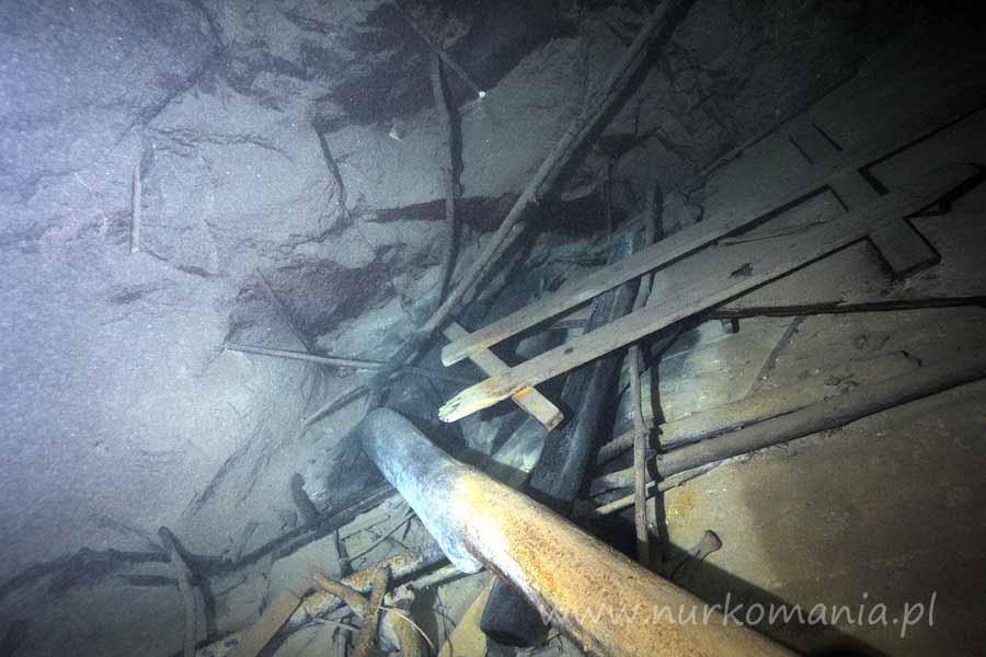 nurkowanie jaskiniowe wapiennik