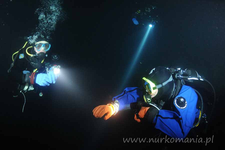 nurkowanie jaskiniowe Zakrzówek