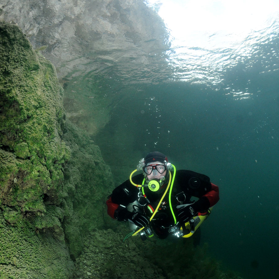 nurkowanie Zakrzówek 2012 sidemount kurs