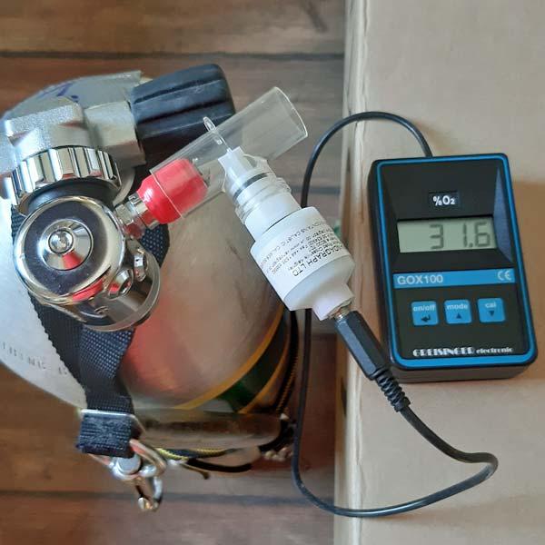 pomiar zawartości tlenu