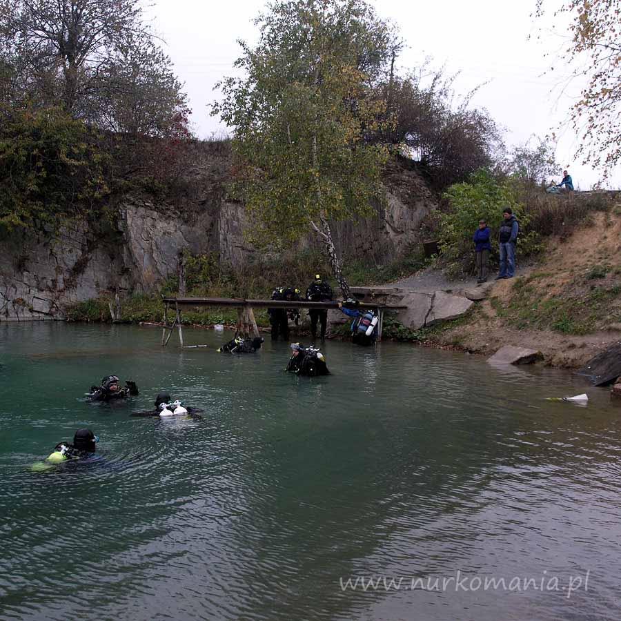 kurs nurkowania Svobodne Hermanice