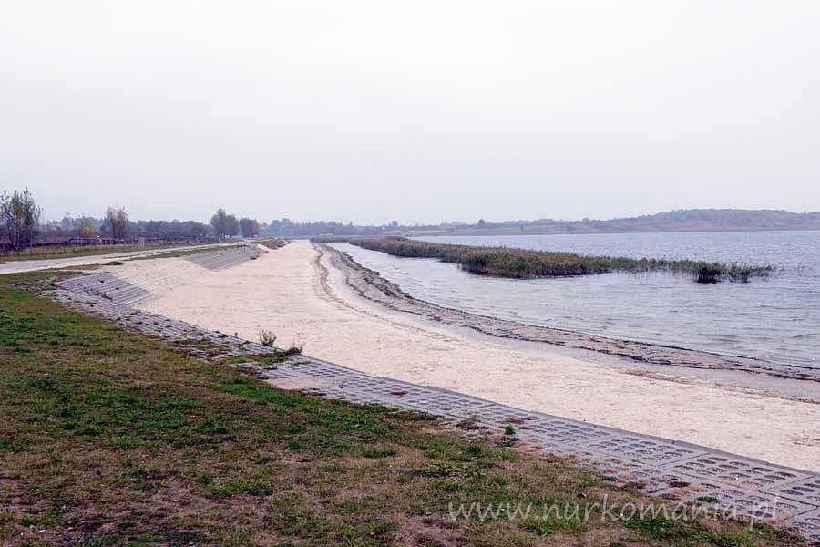 Jezioro Tarnobrzeskie nurkowanie