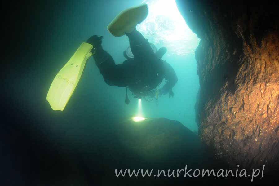nurkowanie jaskiniowe krupajsko vrelo