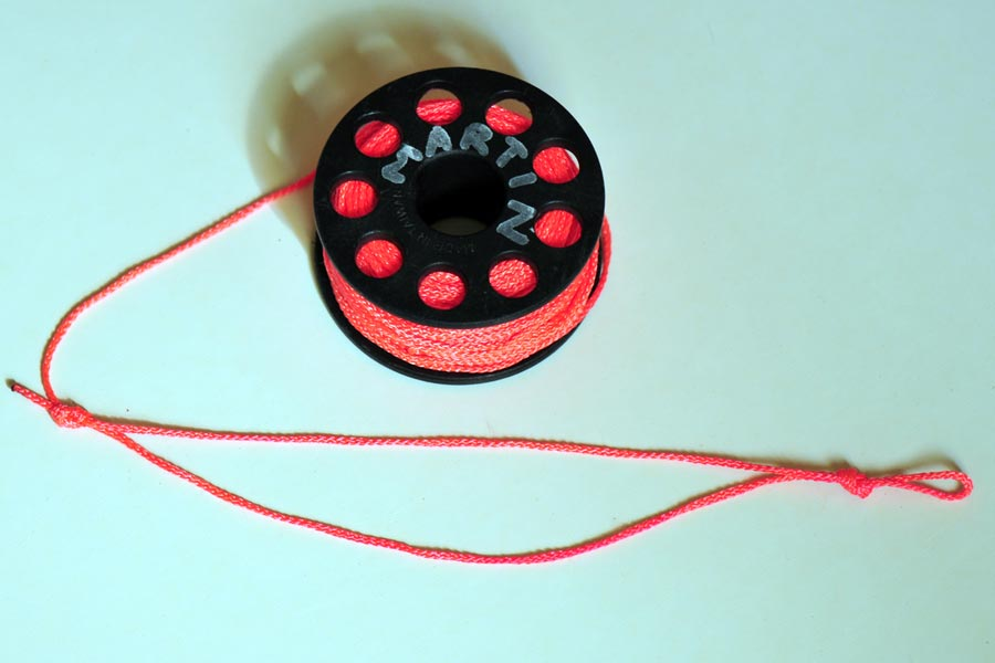 szpulka mocowanie linki