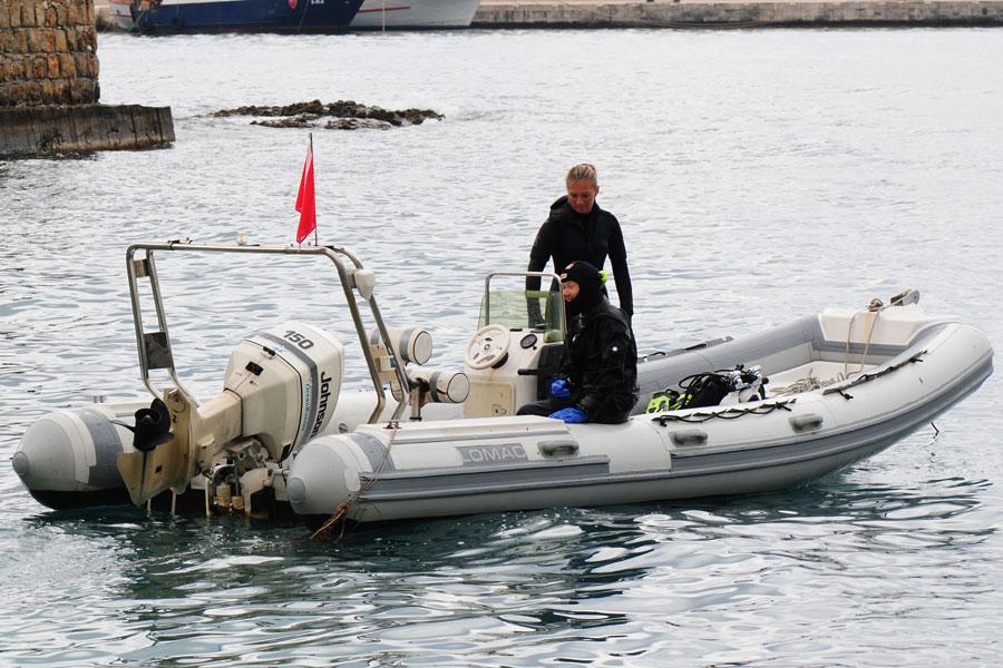 ponton nurkowy