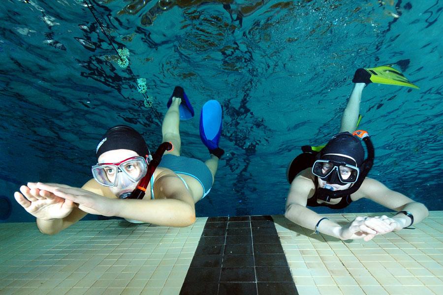 pływanie - nauka pływania
