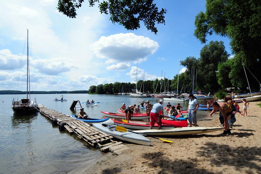 spływ kajakowy Jezioro Drawskie