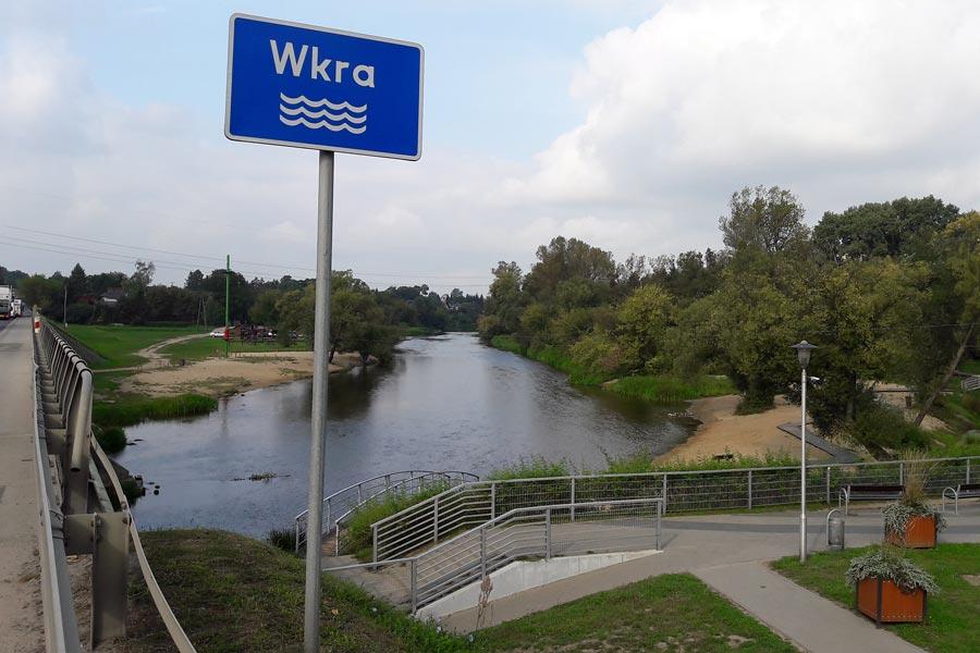 spływ kajakowy Wkra Joniec Pomiechówek